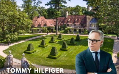 TOMMY HILFIGER GETS $45 MILLION FOR GREENWICH HOME